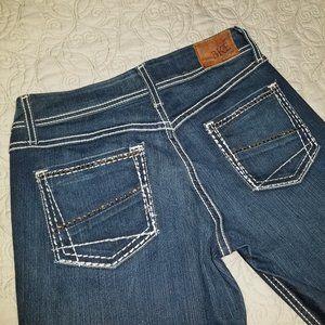 BKE Denim Harper Boot Cut women's jeans size 27R